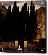 The Isle Of The Dead 1886 Acrylic Print