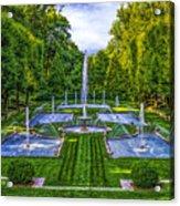 The Italian Water Gardens Acrylic Print