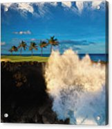 The Jack Nicklaus Signature Hualalai Golf Course Acrylic Print