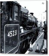 The Jacobite At Mallaig Station Platform 3 Acrylic Print