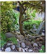 The Japanese Garden Acrylic Print