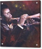 The Jazz Player Acrylic Print
