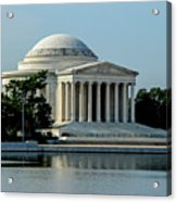 The Jefferson Memorial 2 Acrylic Print