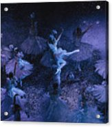 The Joffrey Ballet Dances The Acrylic Print by Sisse Brimberg