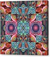 The Joy Of Design Mandala Series Puzzle 7 Arrangement 1 Acrylic Print