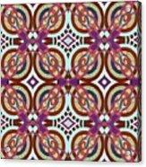 The Joy Of Design X L I Arrangement 3 Inverted Acrylic Print