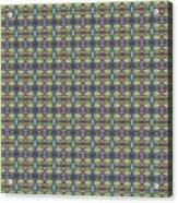 The Joy Of Design X X X I I I Arrangement 1 Tile 9x9 Acrylic Print