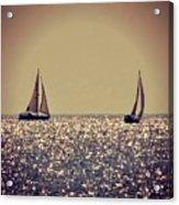 The Joy Of Sailing Acrylic Print