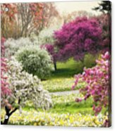 The Joy Of Spring Acrylic Print