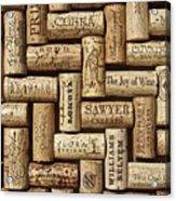 The Joy Of Wines Acrylic Print
