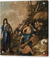 The Judgement Of Midas In The Contest Between Apollo And Pan Acrylic Print