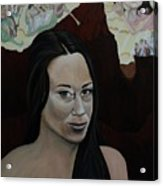 The Judgment Of Casey Anthony The Sacrifice Of Caylee Anthony Acrylic Print