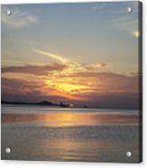 The Junk At Sunset Acrylic Print