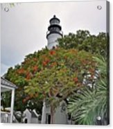 The Key West Lighthouse Acrylic Print
