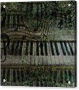 The Keyboard Acrylic Print