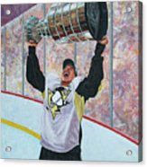 The Kid And The Cup Acrylic Print