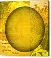 The Kingdom Of God Is Like A Mustard Seed Acrylic Print