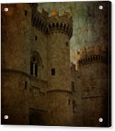 The King's Medieval Layer Acrylic Print