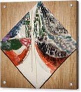 the Kiss 9 - tile Acrylic Print