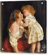 The Kiss  After John Morgan 1800 Acrylic Print