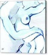The Kiss - Loving Couple Acrylic Print