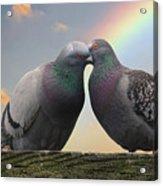 The Kiss Acrylic Print