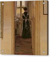 The Kitchen Acrylic Print by Harold Gilman