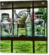 The Kitchen Window Acrylic Print