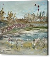 The Kite Runners Acrylic Print