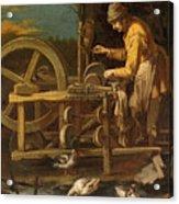 The Knife-grinder Acrylic Print