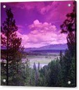 The Kootenai Wildlife Reserve   Acrylic Print