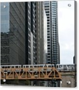 The L In Chicago Acrylic Print