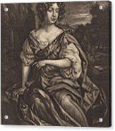 The Lady Essex Finch Acrylic Print