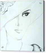 The Lady Acrylic Print