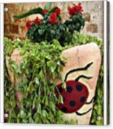 the Ladybug Acrylic Print