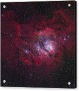 The Lagoon Nebula Acrylic Print