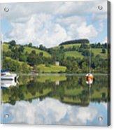 The Lake District Popular Beautiful Uk Holiday Destination Ullswater Cumbria North England Acrylic Print