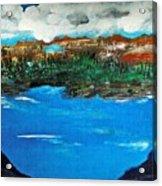 The Lake Acrylic Print
