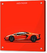 The Lamborghini Aventador Acrylic Print