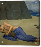 The Lamentation Of Orpheus Acrylic Print