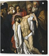 The Lamentation Acrylic Print