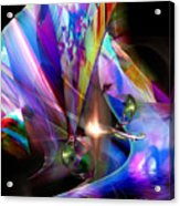 The Lamp Light Acrylic Print