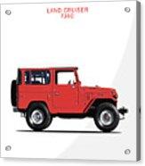 The Land Cruiser Fj40 Acrylic Print