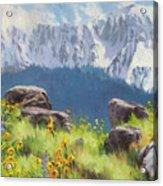 The Land Of Chief Joseph Acrylic Print