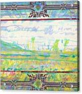 The Land Of The Dyamids Acrylic Print