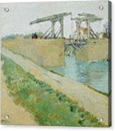 The Langlois Bridge Acrylic Print