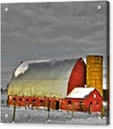 The Last Barn Acrylic Print