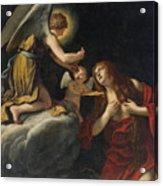 The Last Communion Of The Magdalene Acrylic Print