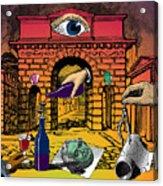 The Last Days Of Herculaneum Acrylic Print