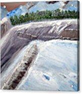The Last Glacier Acrylic Print